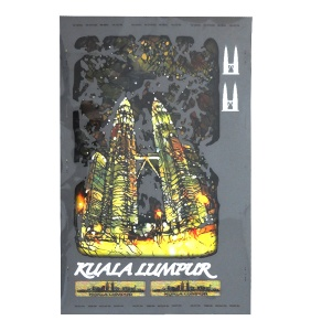 KL Twin Towers - Twilight (Sticker Only)